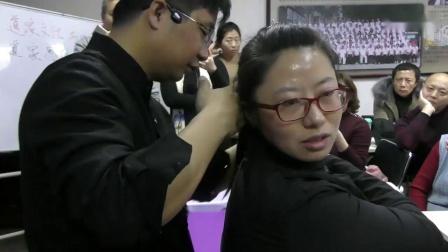 胡青耀连环锁返魂锁调理转头不力肩部疼痛手法_超清