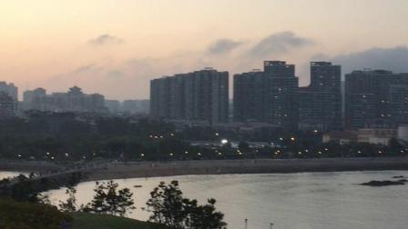 青岛小麦到公园-拍海边