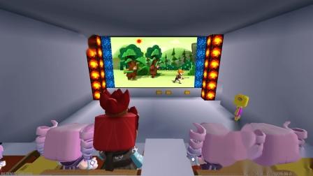 迷你世界:做一个可以看熊出没的电视机