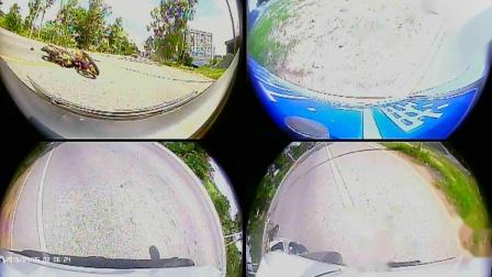 20200703自驾与摩托相撞