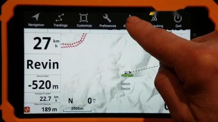 如何添加地图&海拔高度到AIR³_XCTrackPro