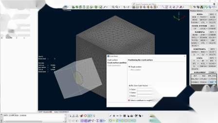 ANSA Cracks Propagation Modeling Assistant for Ansys (CINT)