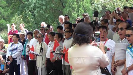 北京健康之声合唱团演唱歌曲《小白杨》