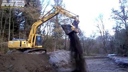 MB-HDS320筛分破碎铲斗配RM套件用于处理土壤