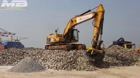 BF80.3破碎铲斗配Caterpillar 325DL挖机道路工程