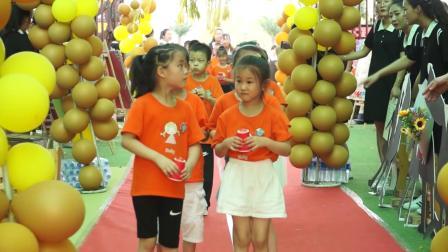 2、新绛县富力城幼儿园共世界成长毕业典礼幼儿上场
