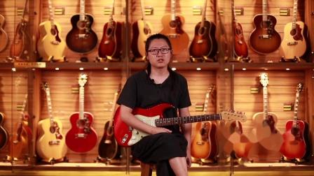 Fender 1962 ST Masterbuilt By Ron Thorn电吉他测评【世音琴行】.mp4