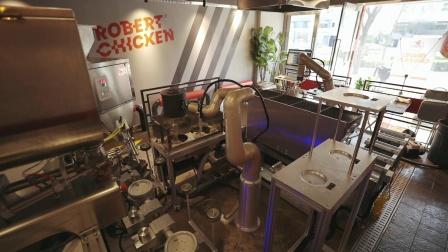 协作机器人新零售行业-由Indy7来烹饪的炸鸡'ROBERT CHICKEN'(作业流程)_纽禄美卡(Neuromeka).mp4