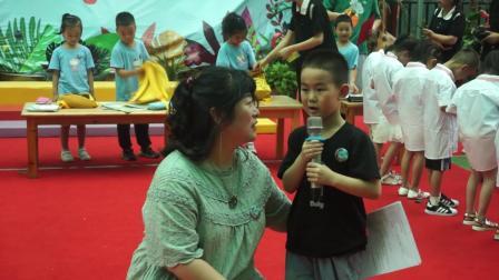 7、新绛县富力城幼儿园共世界成长毕业典礼自理能力大赛