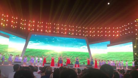 2019年9月13日竺静楠有幸参加《大爱中国,最美溪口》,庆祝七十周年晚会
