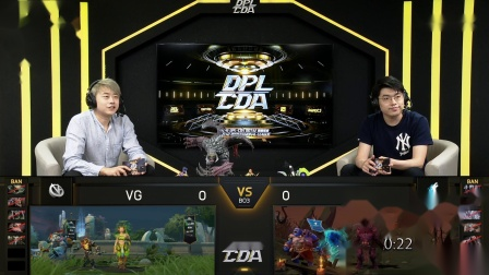 DPL-CDA S2 Main Event Day 19 Match 1 VG VS Team Sirius Game 1