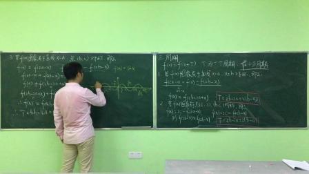高中 函数图象4 对称变换及周期