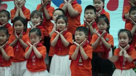 13、新绛县富力城幼儿园共世界成长毕业典礼毕业留颂K4C班