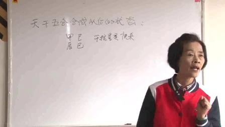 杨清娟盲派八字命理之(干扰星)