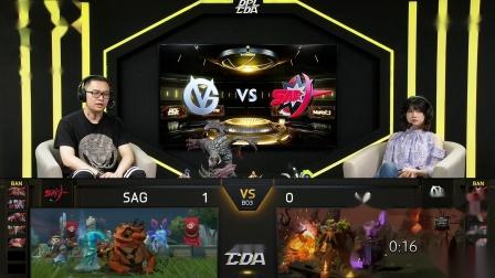 DPL-CDA S2 Main Event Day 20 Match 1 VG VS SAG Game 2