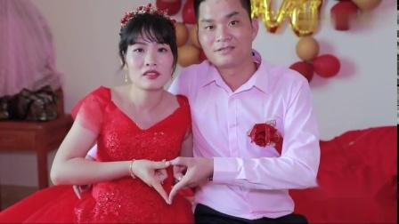 广东二婚夫妻再婚,儿女双全,新郎结婚就当爹,真幸福
