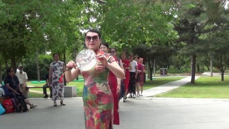 中老年健康群  长春公园游玩2