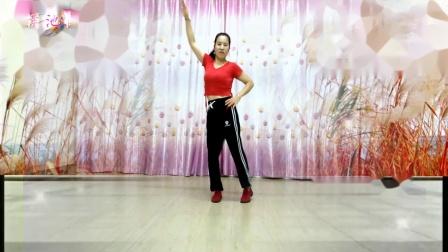 网红火爆弹跳舞《一生回味一面》简单32步单人有背景版