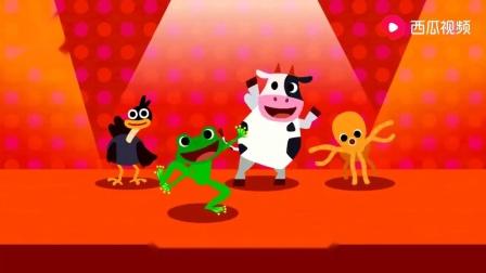 碰碰狐儿歌:什么动物最能跳,当然是青蛙啦,跟着青蛙跳一跳