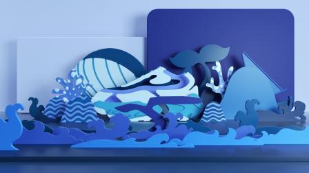 BELLE 2020鲸鱼老爹鞋发布推广视频