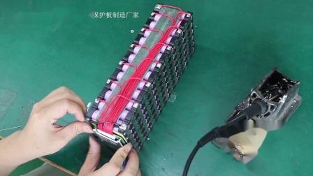 13串48V锂电池保护板详细安装教材