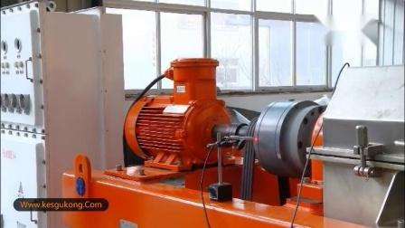 离心机出厂试机(科盛能源机械制造河北有限公司)