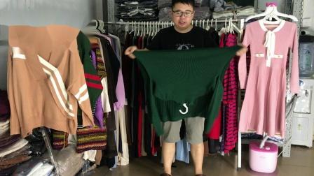 7-22期冬装厚款韩版毛衣款式展示