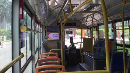 2020年7月25日,佛山公交粤运巴士132路 千灯湖总站~万达广场南 段运行拍摄,