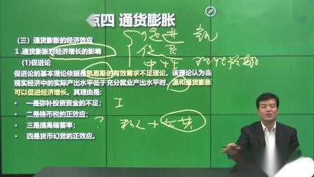34.第四讲宏观经济学专题一货币理论知识点四通货膨胀.mp4