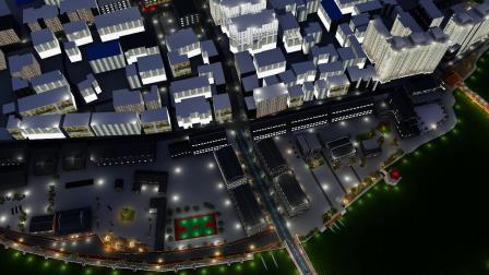 炉头村景观规划设计夜景