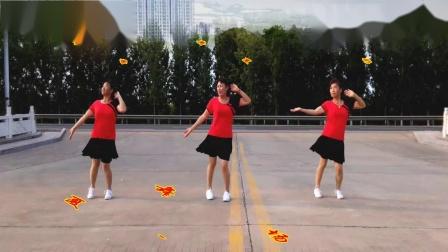 高密-夏荷广场舞 七夕的红月亮  编舞 金社  视频制作 夏荷