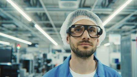 tooz智能眼镜 工业使用场景演示