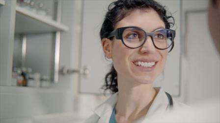 tooz智能眼镜 医院使用场景演示