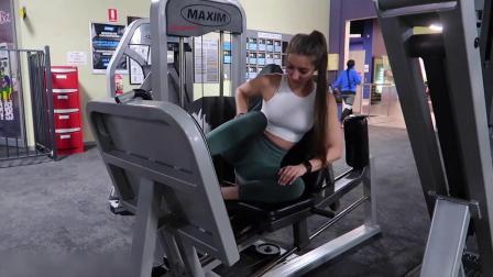 【健身福利】肌肉翘臀女,6个实用的臀部训练动作