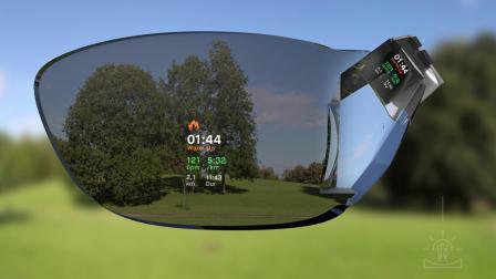tooz智能眼镜 光机及整机技术3D 动态展示
