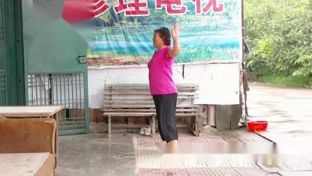 杨凌下阳村广场舞怎么开心怎么活