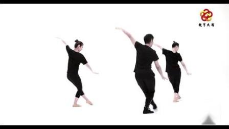 青年舞蹈家邓斌老师舞蹈《红星照我去战斗》背面