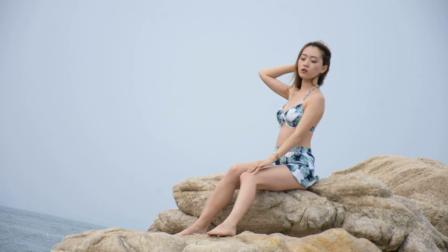 性感美女-北戴河泳装比基尼摄影2