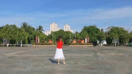 盛开红色广场舞《多想把你遇见》唱醉心扉,柔情优美形体舞