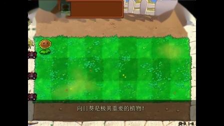 植物大战僵尸beta(β)6.10中文版 冒险模式:关卡1-1到1-5关 2020年8月5日