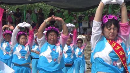 """2020庆""""八.一""""桦川桦悦广场健身秧歌队秧歌表演健身操"""