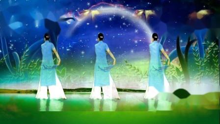 古典纱巾舞《月下待杜鹃不来》