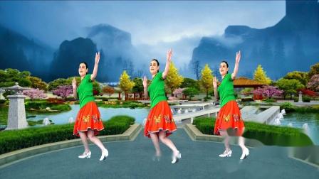 兰玉广场舞《天生一对好鸳鸯》幽默风趣