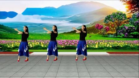 广姐广场舞《黄玫瑰》编舞:乔茜:优美中三