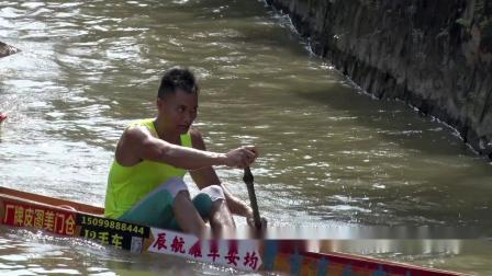 顺德非遗项目-顺德区均安镇首届单人龙舟竞技