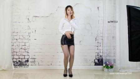 炫舞世家萱萱女神皮裙性感热舞