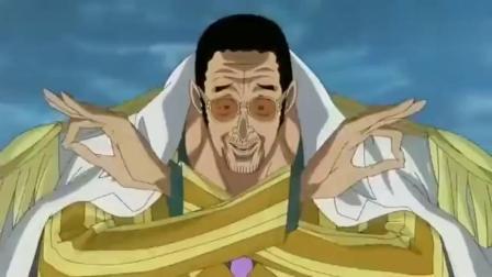 海贼王:红发香克斯霸气登场!3大海军一起也不是对手!