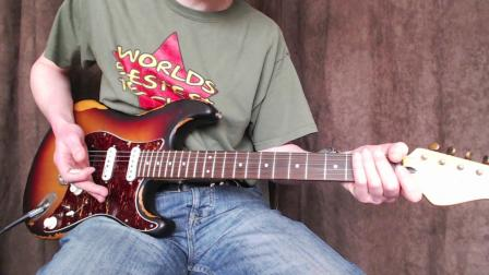 英国Vintage英特吉电吉他V6做旧系列单单双 各档位音色演示
