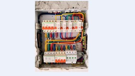 水电施工视频教程全套配电箱系统图教程