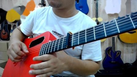拿火吉他 LAVA ME 2 音色试听 指弹 吉他独奏 岸部真明《流行的云》片段